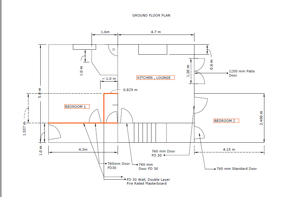 Worsley Manchester 5 Bed HMO Real Estate Project Drawings