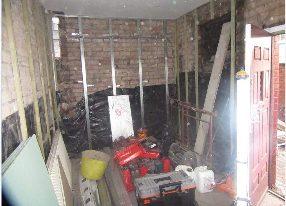 Professional HMO Property Project – Bringing it Back to the Brick