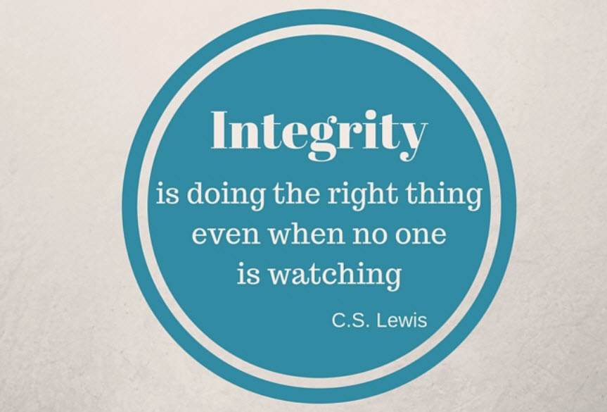 Integrity Goes A Long Way in Property