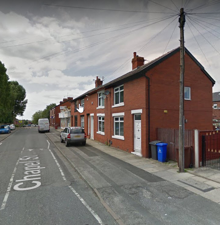 Social Housing 3 HMO Bed Chapel Street Dukinfield  Nets £8970
