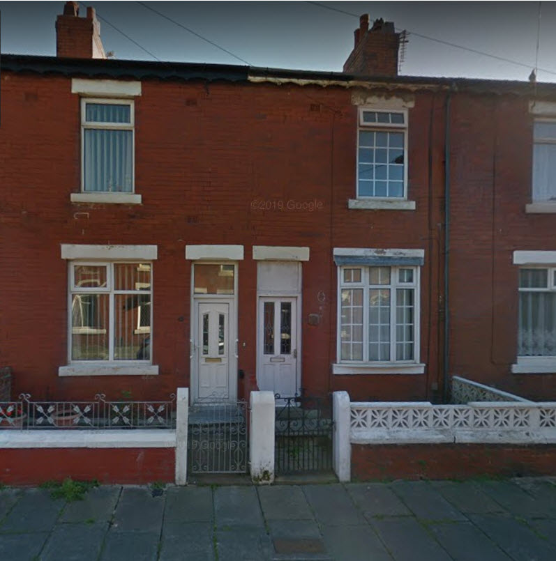 Buy To Let Chester Street -Management by Blackpool Council Rents £6240